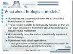 what about biological models