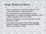 some historical notes4