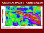 gravity anomalies amarillo uplift