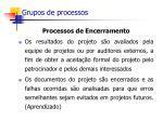 grupos de processos61