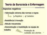 teoria da burocracia e enfermagem24