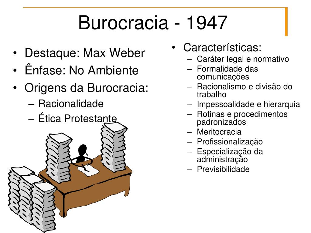 Burocracia - 1947