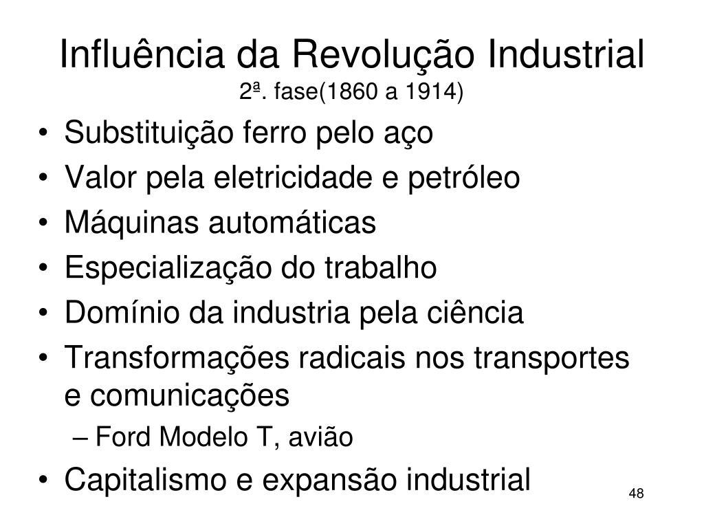 Influência da Revolução Industrial