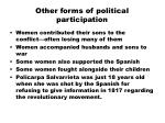 other forms of political participation
