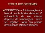 teoria dos sistemas19