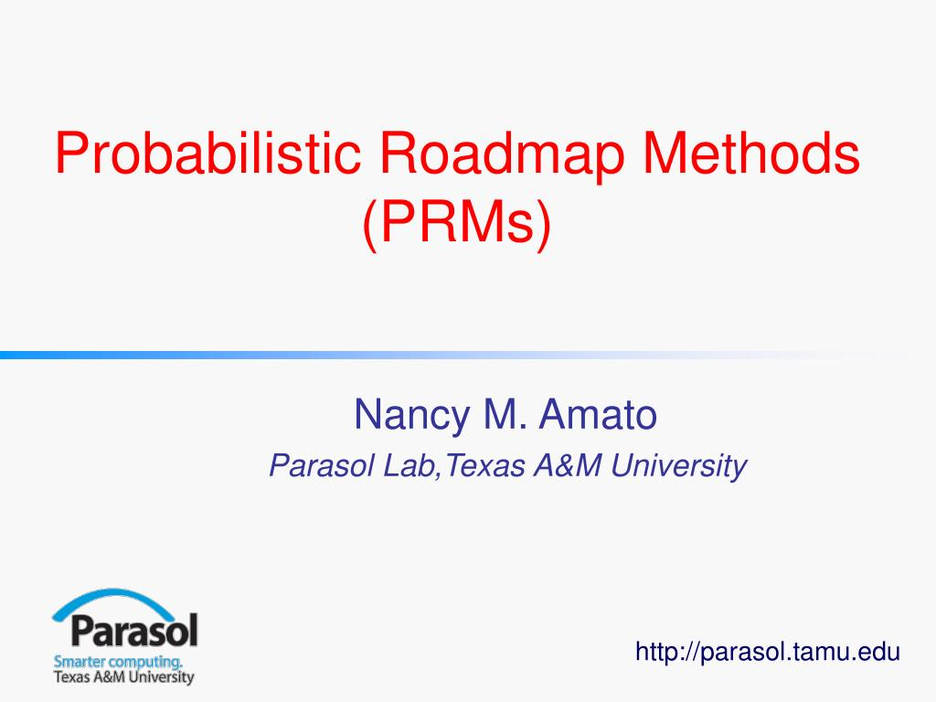 probabilistic roadmap methods prms l.
