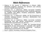 main references49