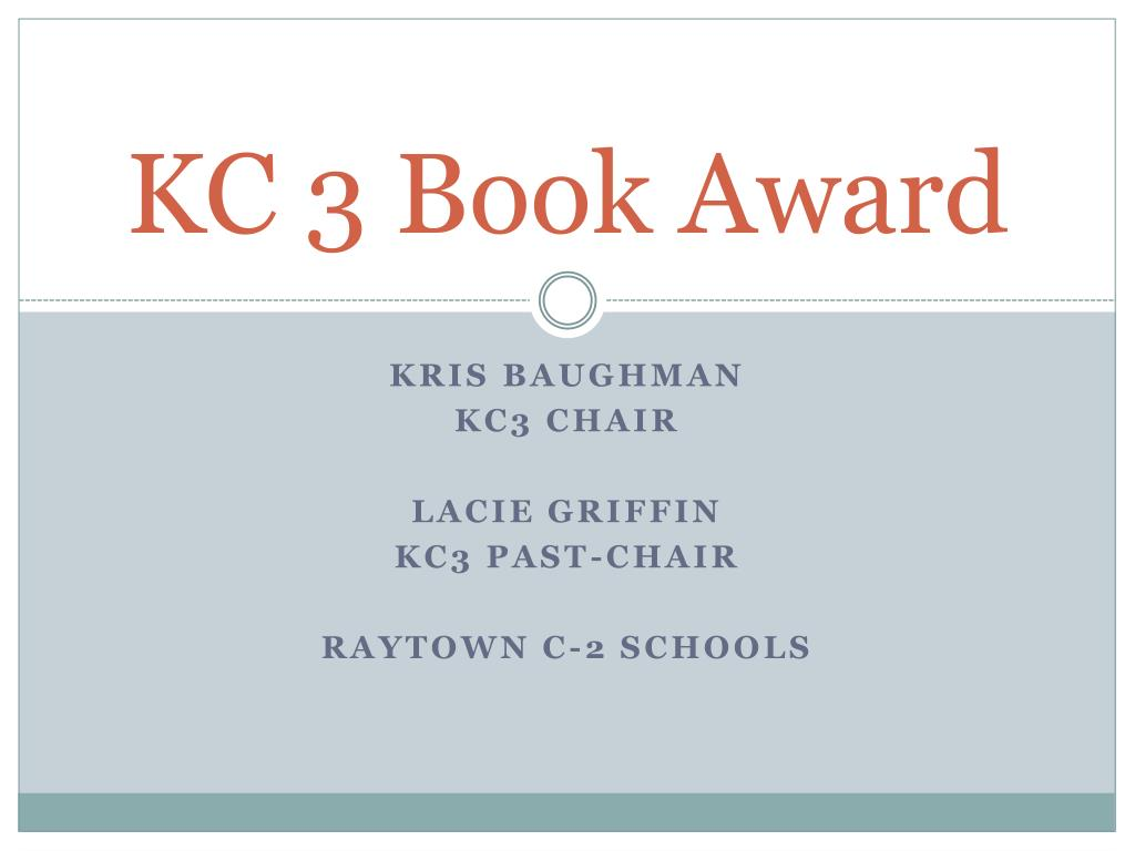 kc 3 book award l.