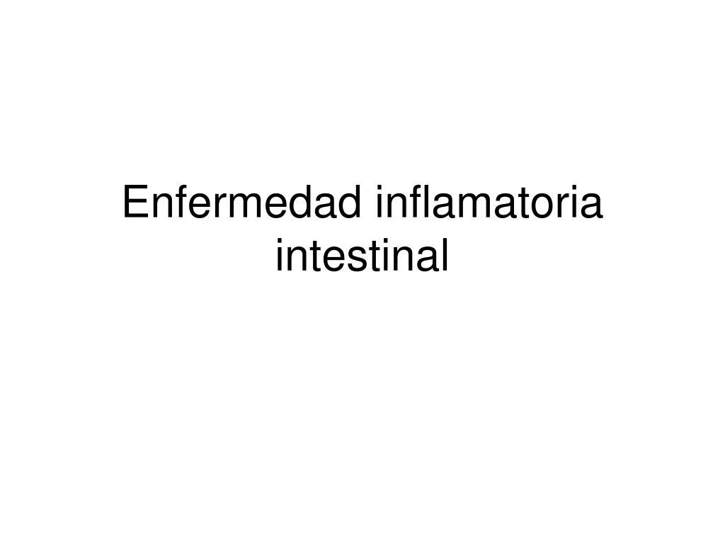 enfermedad inflamatoria intestinal l.