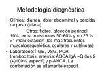 metodolog a diagn stica