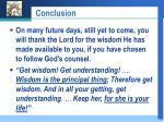 conclusion35