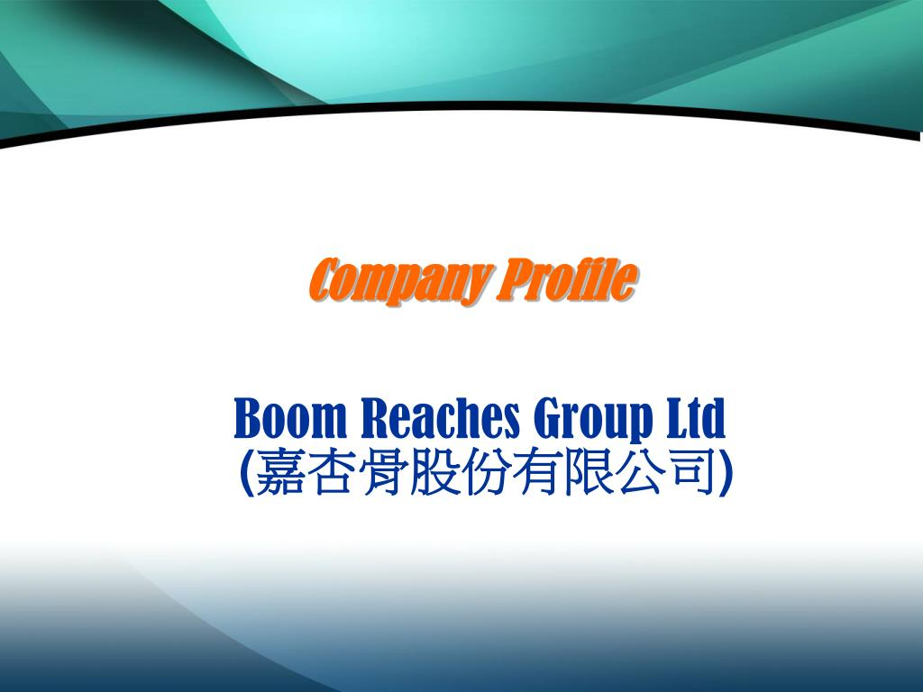 boom reaches group ltd l.