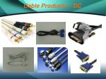 cable products dc8