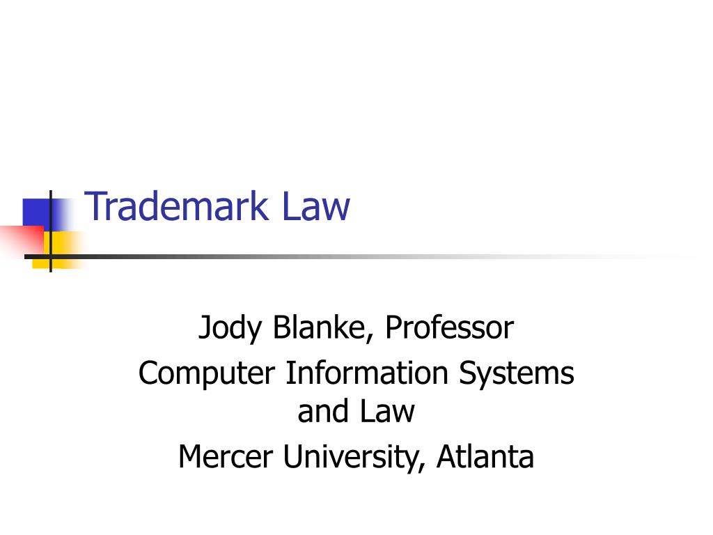 trademark law l.