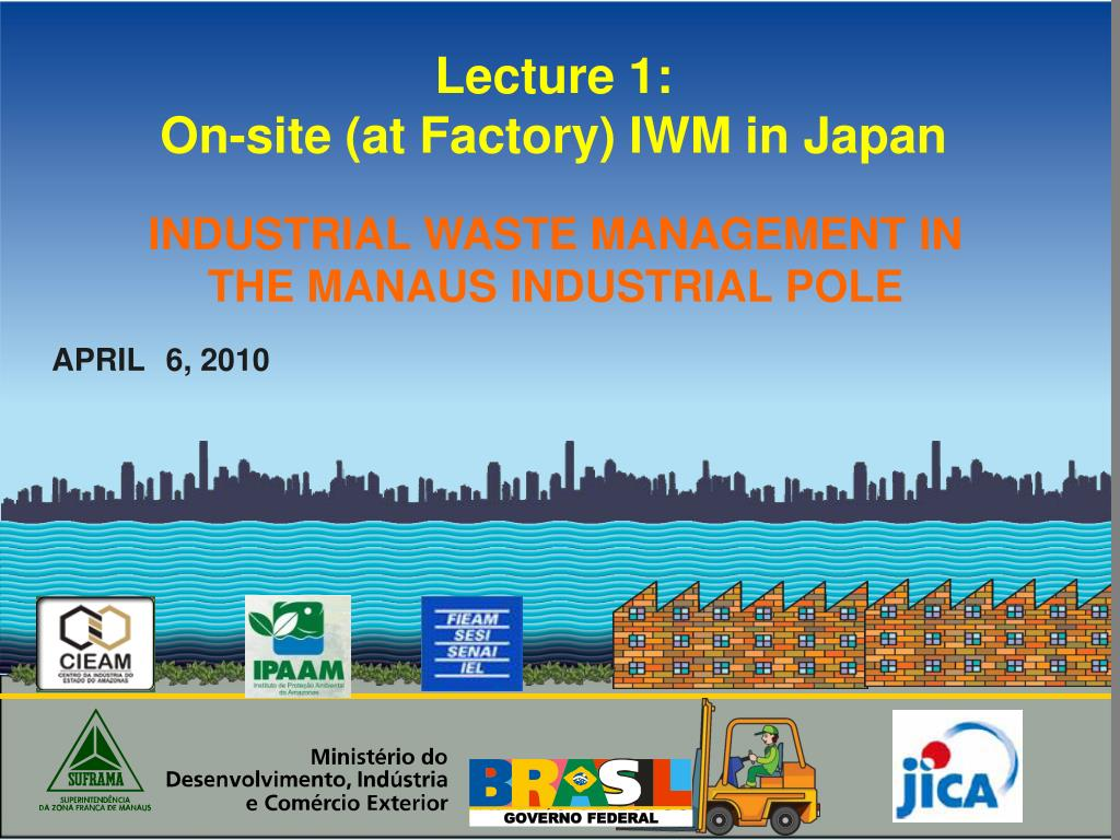 lecture 1 on site at factory iwm in japan l.