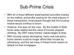 sub prime crisis18