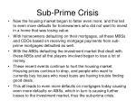 sub prime crisis19