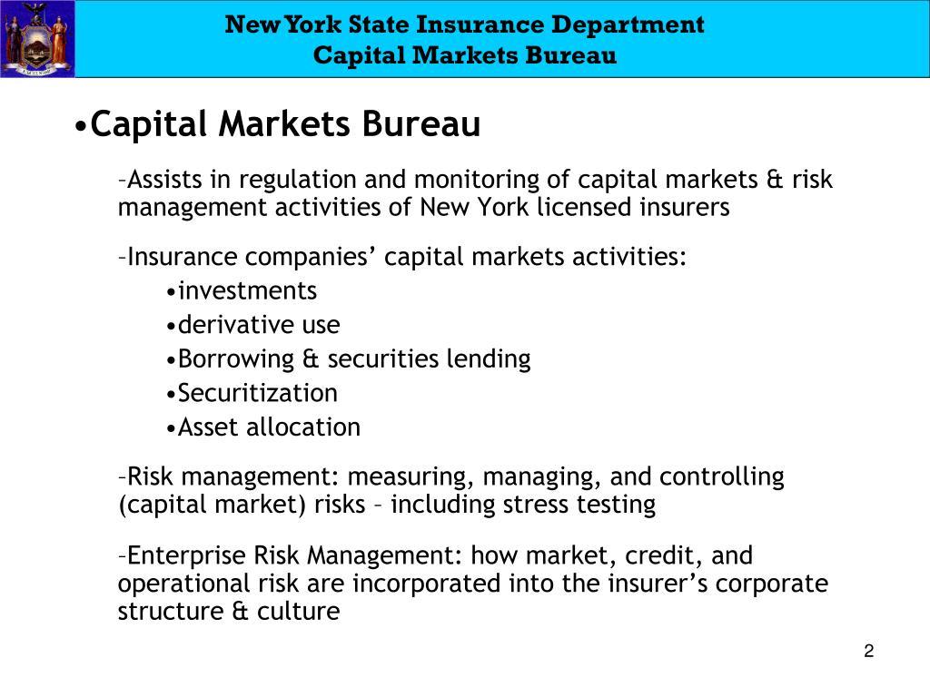 New York State Insurance Department