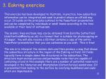 3 eakring exercise