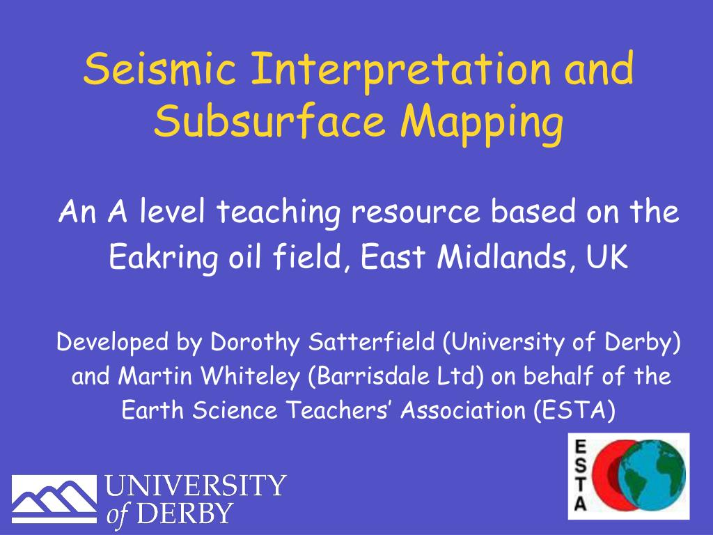 seismic interpretation and subsurface mapping l.