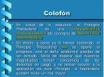 colof n