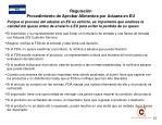 regulaci n procedimiento de aprobar alimentos por aduana en eu