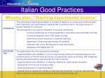 italian good practices25