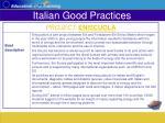 italian good practices26