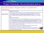 project chemicals the environment and us20