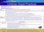 umbrian good practices38