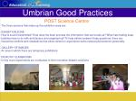 umbrian good practices43