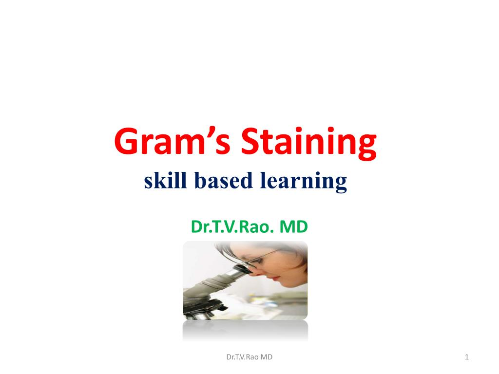 gram s staining skill based learning l.
