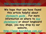 http www boardshop com au8
