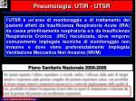 pneumologia utir utsr