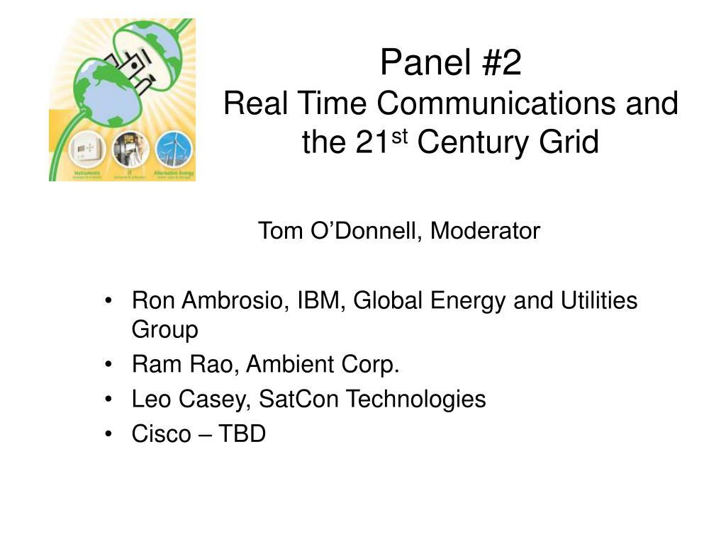 Panel #2
