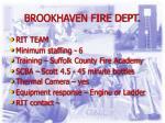 brookhaven fire dept