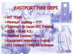 eastport fire dept
