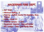 hagerman fire dept