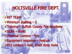 holtsville fire dept