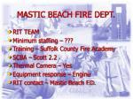 mastic beach fire dept