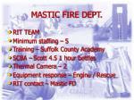 mastic fire dept