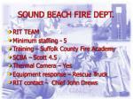 sound beach fire dept