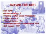 yaphank fire dept