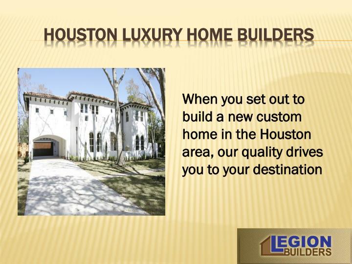 Houston luxury home builders