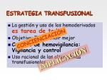 estrategia transfusional