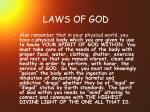 laws of god17