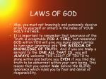 laws of god20