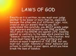 laws of god37