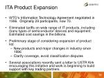 ita product expansion