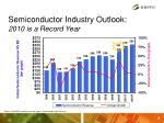 semiconductor industry outlook 2010 is a record year